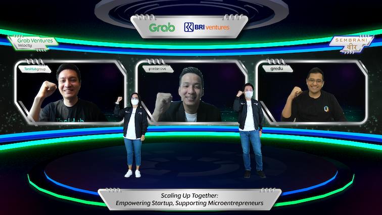 Majukan Ekonomi Digital Indonesia, Grab Bersama BRI Ventures Luncurkan Grab Ventures Velocity Batch 4 X Sembrani Wira