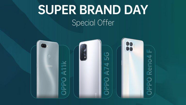 30 Juni – 2 Juli 2021, Oppo Tawarkan Diskon Menarik di Shopee Super Brand Day
