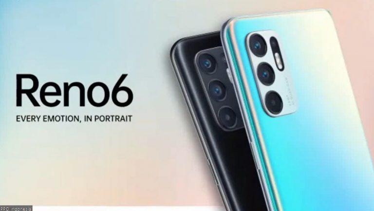 Reno6 Jadi Smartphone Oppo Reno Series Pertama yang Miliki Fitur Video Bokeh