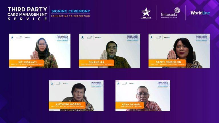 Artajasa-Lintasarta Jalin Konsorsium Kembangkan Sistem 'Third Party Card Management' Pertama di Indonesia