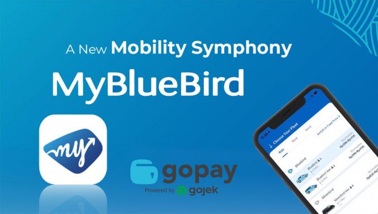 GoPay Resmi Hadir di Aplikasi My Bluebird, Perluas Opsi Pembayaran Pelanggan Bluebird