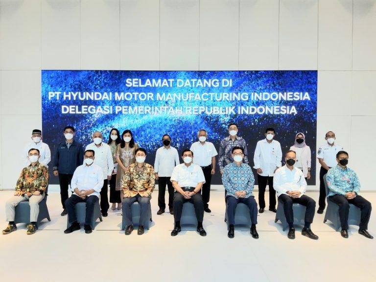Pabrik Hyundai Motor Manufacturing Indonesia Resmi Memproduksi Oksigen