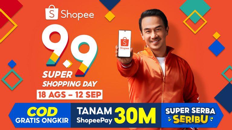 Bersama Brand Ambassador Baru, Joe Taslim, Shopee Gelar Kampanye 9.9 Super Shopping Day