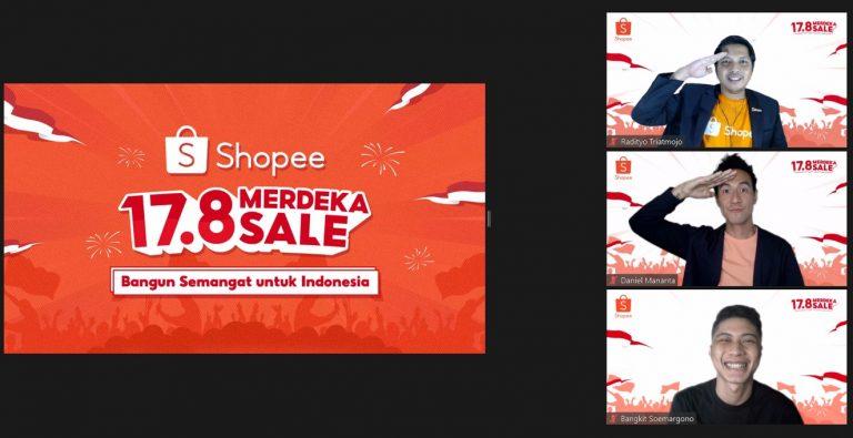 Kampanye 17.8 Merdeka Sale, Shopee Hadirkan Kolaborasi Produk Lokal