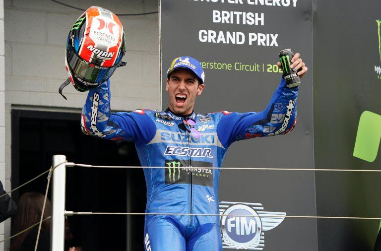 Pembalap Suzuki Alex Rins Bersinar di Silverstone, Mampu Capai Podium Kedua