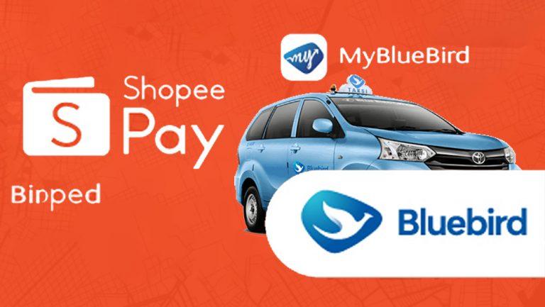 MyBlueBird Semakin Fleksibel, Kini ShopeePay Bisa Jadi Opsi Pembayaran