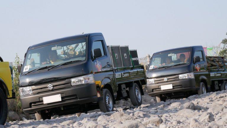 Jadi Mobil Terlaris, Suzuki Anjurkan Perawatan Ban Rutin untuk New Carry Pick Up