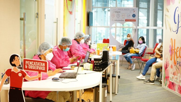 Dukung Akselerasi Program Vaksinasi Nasional, Atome Indonesia Lakukan Vaksinasi Gotong Royong