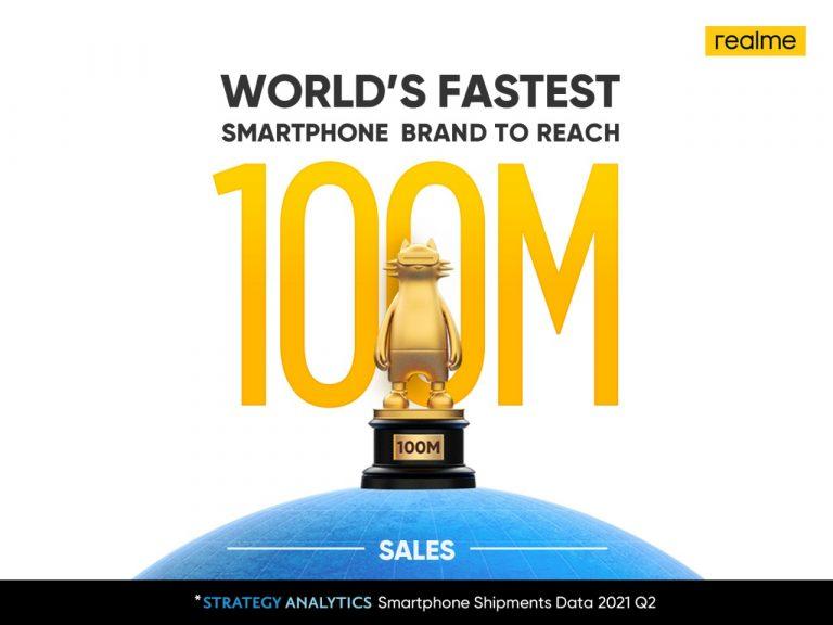 Penjualan Smartphone Capai 100 Juta, Realme Siapkan Kejutan untuk Pengguna di Indonesia