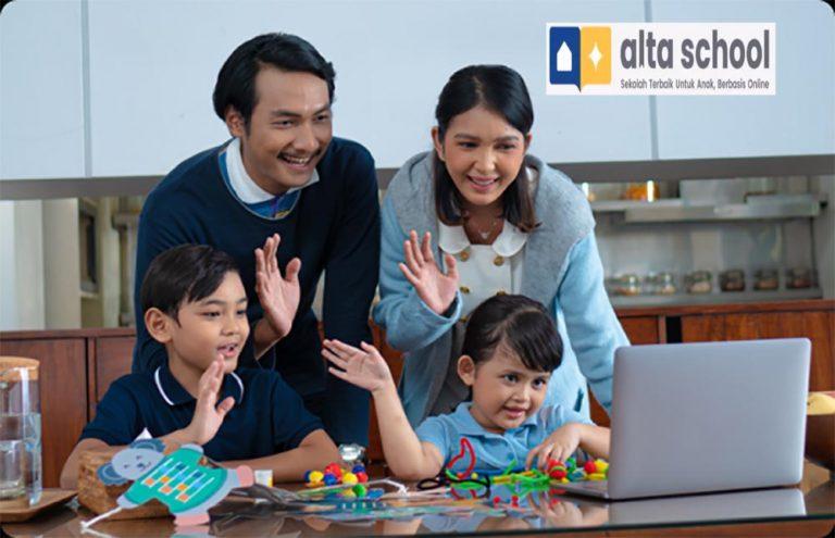 Untuk PAUD dan SD Kelas 1 Hingga 3, Alta School Hadir dengan Sistem Online, Setara Sekolah Konvensional