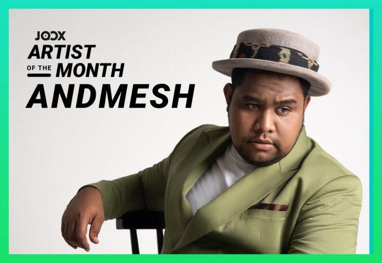 Andmesh Terpilih sebagai 'JOOX Artist of the Month' Bulan September 2021
