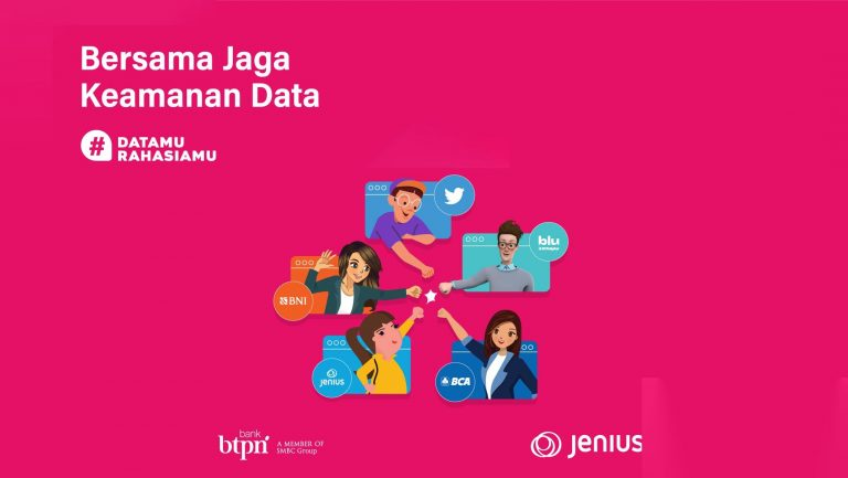 Lindungi Nasabah, Jenius, BCA, BNI, Blu by BCA, dan Twitter Indonesia Suarakan #DatamuRahasiamu