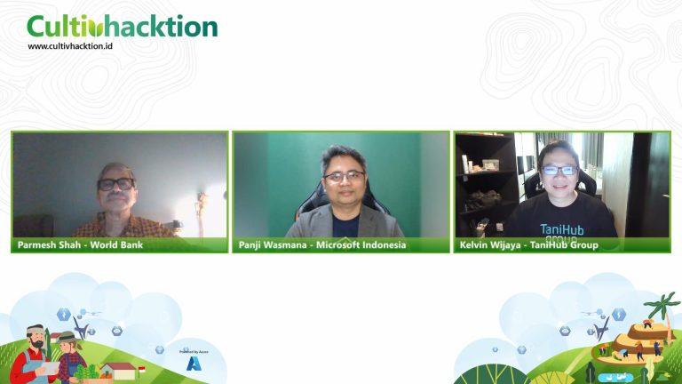 Pacu Inovasi Teknologi di Sektor Pertanian, TaniHub, Microsoft, dan World Bank Gelar Cultivhacktion