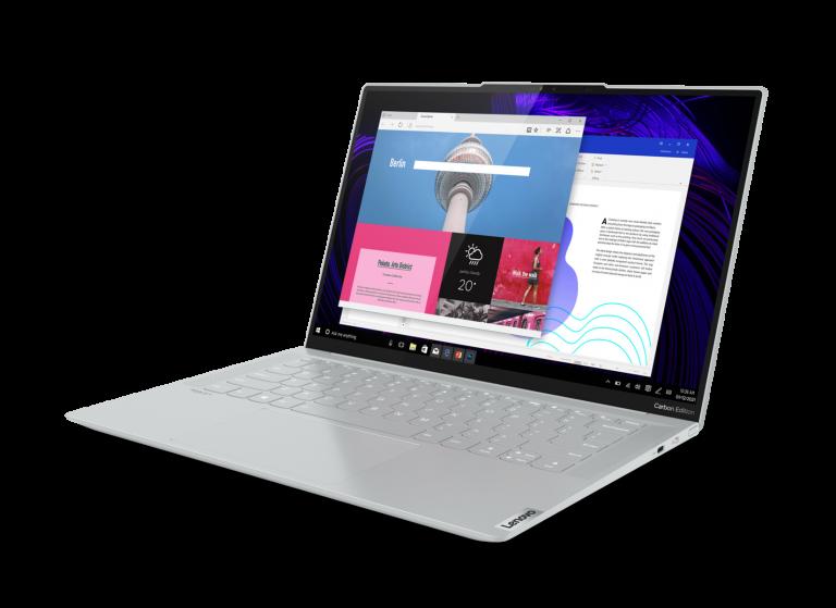 Usung Panel OLED dan Prosesor AMD Ryzen 5000 Series, Lenovo Ungkap Yoga Slim 7 Carbon