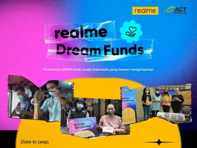 Melalui Program Dream Funds, Realme Borong Dagangan UMKM