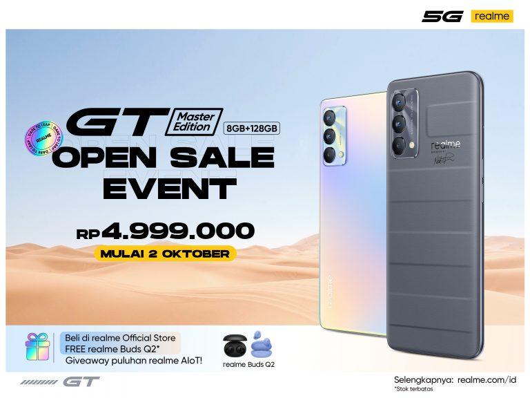 Realme GT Master Edition 8GB+128GB Dapat Sambutan Antusias dari Realme Fans