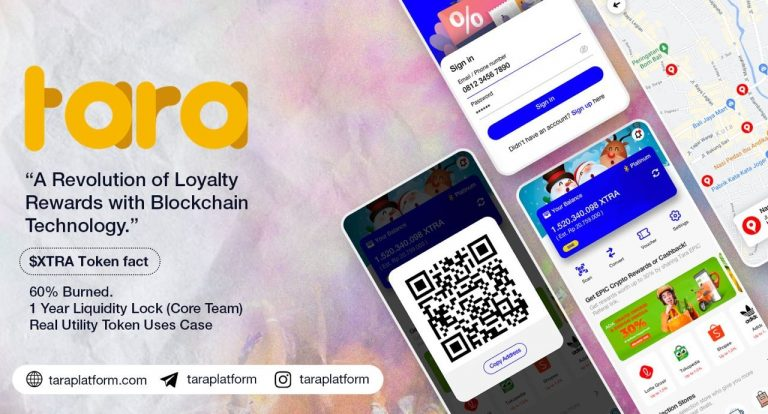 TARA Platform Rilis Solusi Pemanfaatan Loyalty Rewards Mata Uang Kripto Berbasis Blockchain