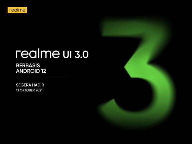 realme GT Dapatkan Prioritas Update Android 12 dan realme UI 3.0